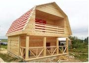 Строим: деревянные Дома,  Срубы,  Бани из бруса. Барань