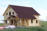 Строительство каркасных Дома с Баней под ключ на 5+